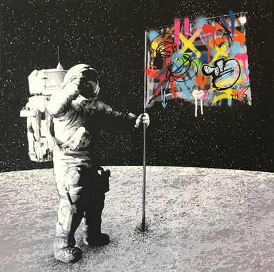 Martin Whatson - 'One Small Step' SOLD