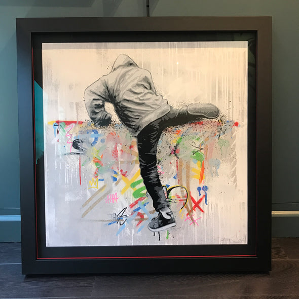 Martin Whatson - 'Climber' (Framed) Hand finished edition SOLD