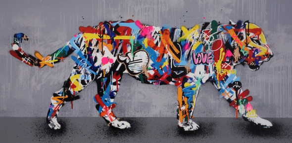 Martin Whatson - 'Tiger' (Framed) SOLD