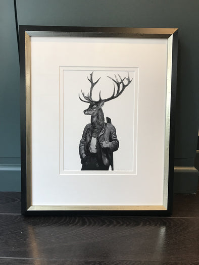 Dan Hiller - 'Hunter' (Framed) SOLD