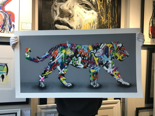 Martin Whatson - 'Tiger' Hand-finished Edition!! SOLD