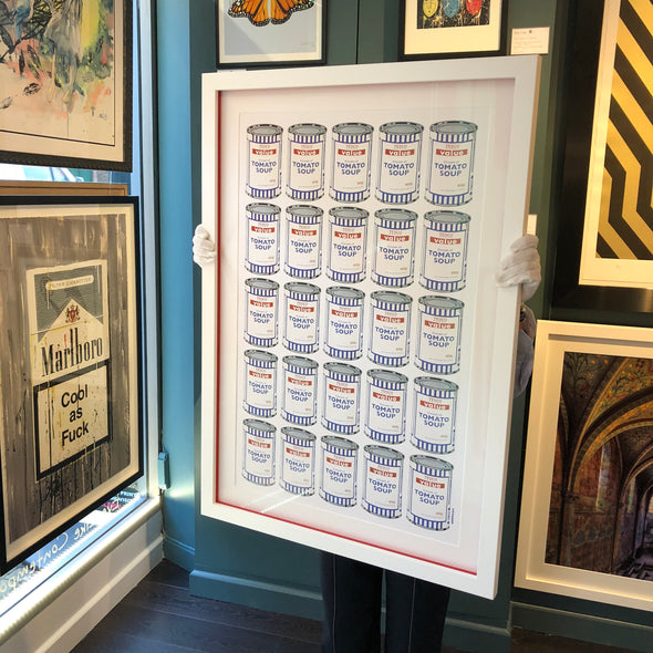 Banksy - 'Soup Cans'  (Framed) SOLD