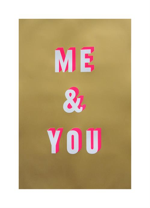 Dave Buonaguidi - 'Me & You' (Framed) SOLD