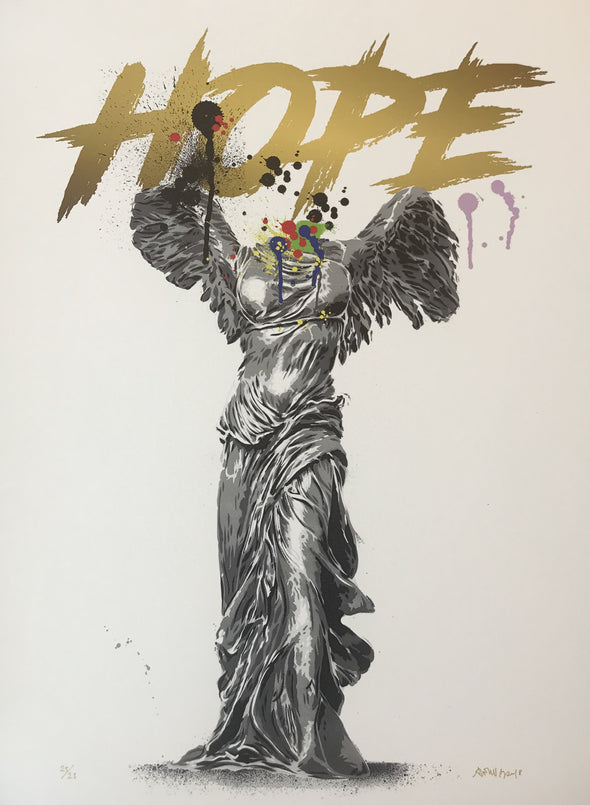 Alessio B - 'Hope' (White edition) SOLD