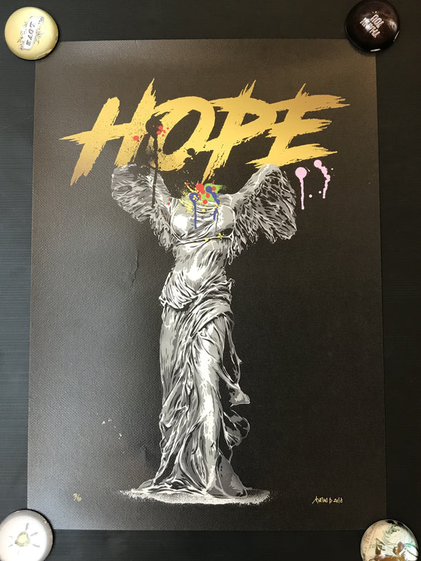 Alessio B - 'Hope' (Black edition)  SOLD