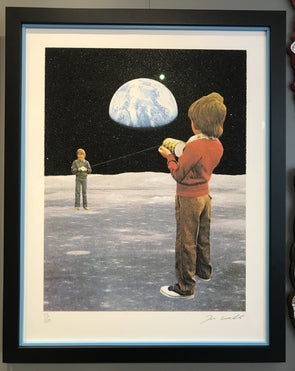 Joe Webb - 'Transmission' (Framed)
