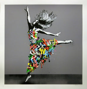 Martin Whatson - 'Dancer' (Framed) SOLD