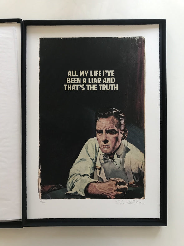 The Connor Brothers - 'All My Life I've Been A Liar' - Rare Box Set of Ten Limited Edition Prints!
