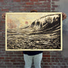 Shepard Fairey (OBEY) - 'Dark Wave' SOLD