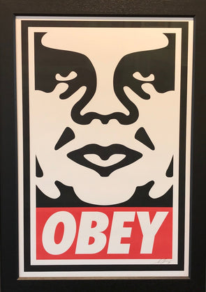 Shepard Fairey - 'Obey Icon' (Framed)