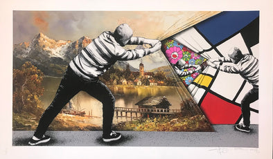 Martin Whatson / Pez - 'Behind The Curtain - Movements' SOLD