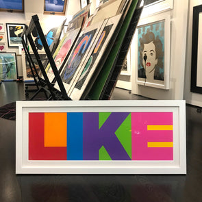 James Joyce - 'LIKE' (Framed)
