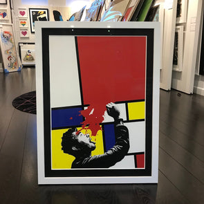 Kunstrasen - 'Soak Up Art When You Can' (Framed)