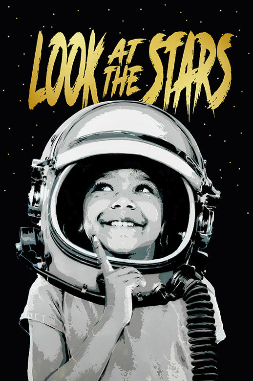 Alessio B - 'Look At The Stars' - Black SOLD