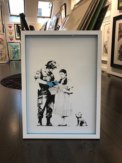 West Country Prince - 'Stop And Search' Banksy Replica (Framed)