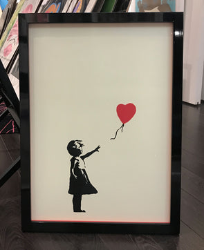 West Country Prince -'Girl With A Balloon' Replica (Framed)