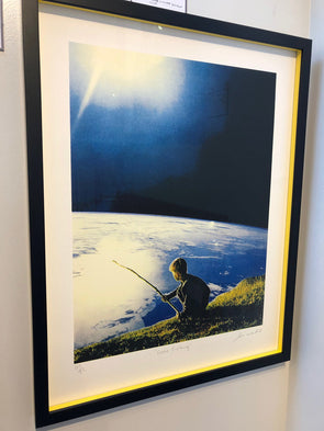Joe Webb  - 'Gone Fishing' Large  (Framed)