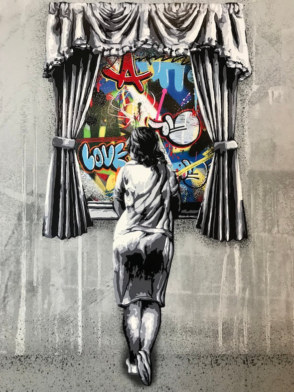 Martin Whatson - 'Figure At The Window - Reverse' SOLD