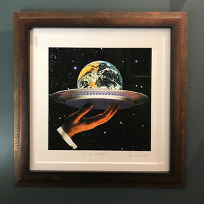 Joe Webb - 'On A Platter' (Framed)
