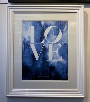 Mercedes Lopez Charro - 'All For Love' (Framed)