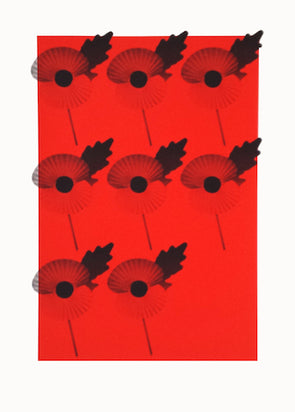 1626-1635: Russell Marshall - 'Poppies' (Unframed)