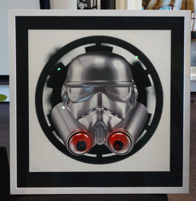 2243: The Strange Case Company - 'Spray Trooper' (Framed)
