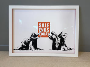 West Country Prince - 'Sale Ends' Banksy Replica