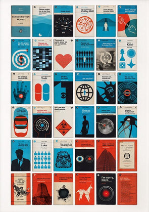 67 Inc - 'Sci Fi Movie Book Covers A to Z'