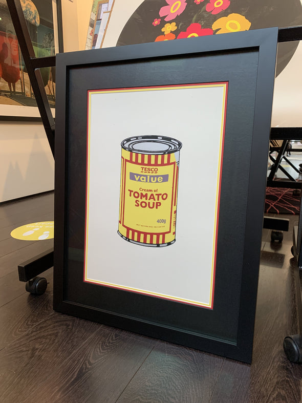 West Country Prince - 'Soup Can' Banksy Replica