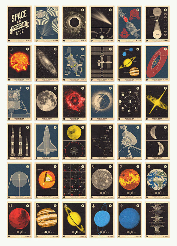 67 Inc - 'Space and Spacecraft A to Z'