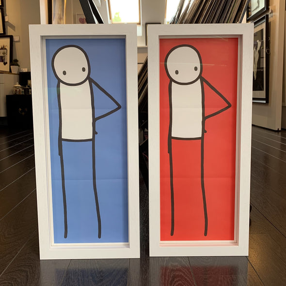 STIK - 'Japanese Big Issue Posters' (Rare complete set of 4)
