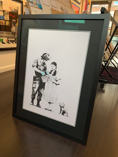 West Country Prince - 'Stop And Search' Banksy Replica