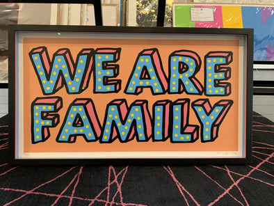 Oli Fowler - 'We Are Family' (Peach)
