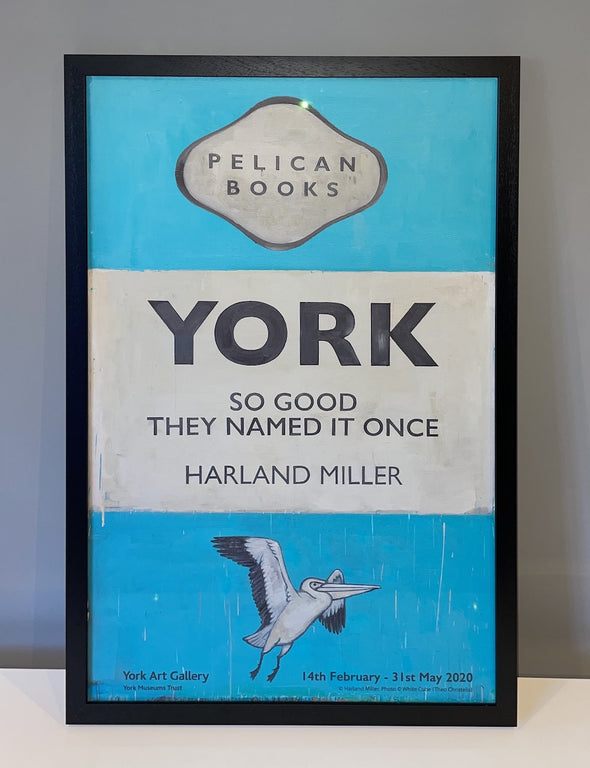 Harland Miller - 'York, So Good They Named It Once'