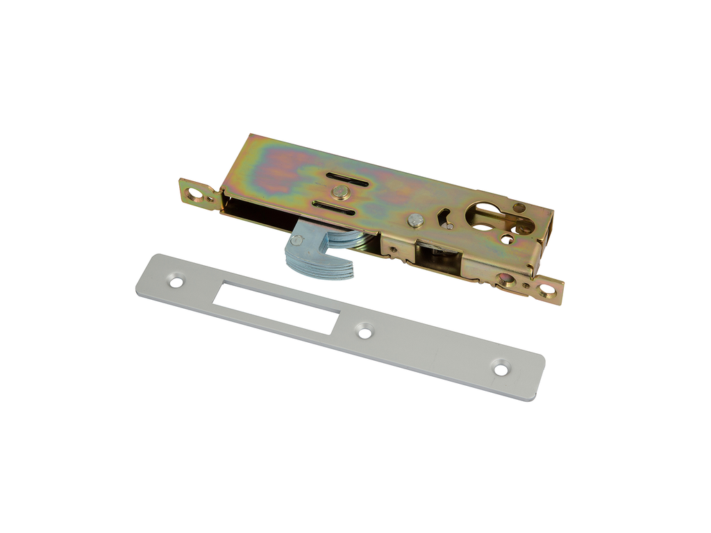 ADS LK8000-40 Euro Profile Hook Lock - 40mm - AluminiumDoorSupplies
