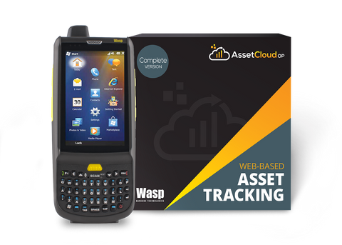 Wasp AssetCloudOP Complete - (5 login users) w/HC1 2D QWERTY - 633809006258