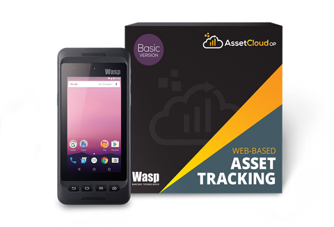 Wasp AssetCloudOP Basic - (1 login users) w/DR4 - 633809006289