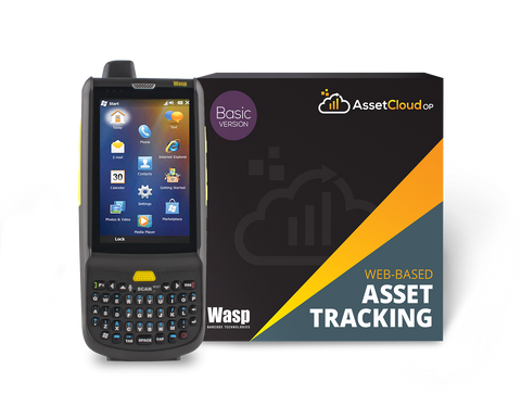 Wasp AssetCloudOP Basic - (1 login users) w/HC1 2D QWERTY- 633809006296