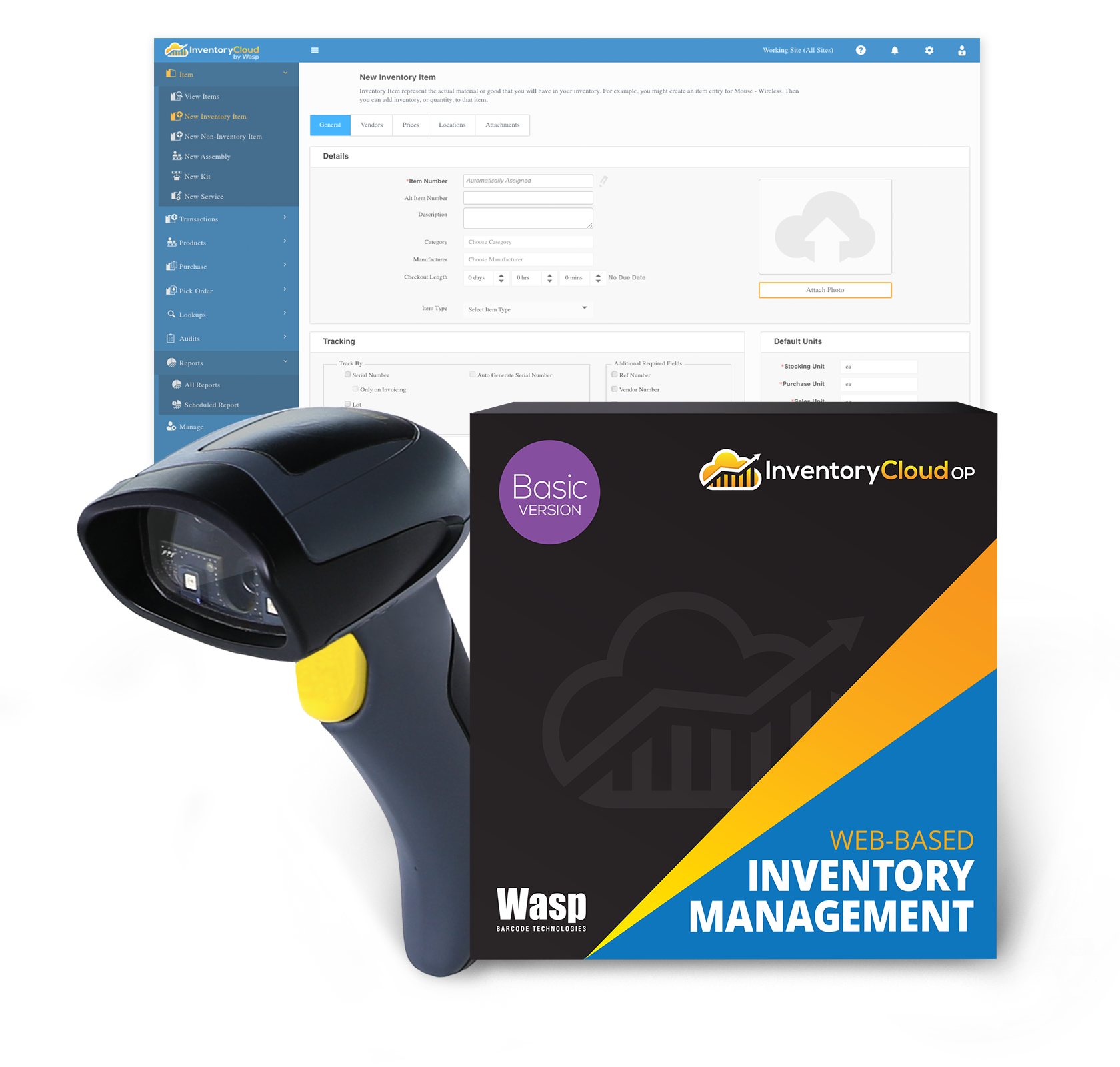 Wasp InventoryCloudOP Basic - (1 login user) w/WWS650 - 633809006395