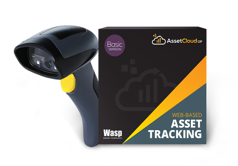 Wasp AssetCloudOP Basic - (1 login users) w/WWS650 scanner- 633809006401