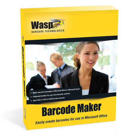 Wasp Barcode Maker (1 User License) - 633808105167