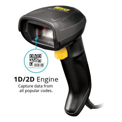 WDI4700 2D Barcode Scanner - 633809007149