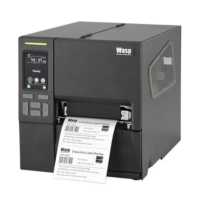 Wasp WPL408 Thermal Transfer Direct Thermal Industrial Tabletop Barcode Printer (4 inch print width) Ready-to-Go Kit - 633809007170