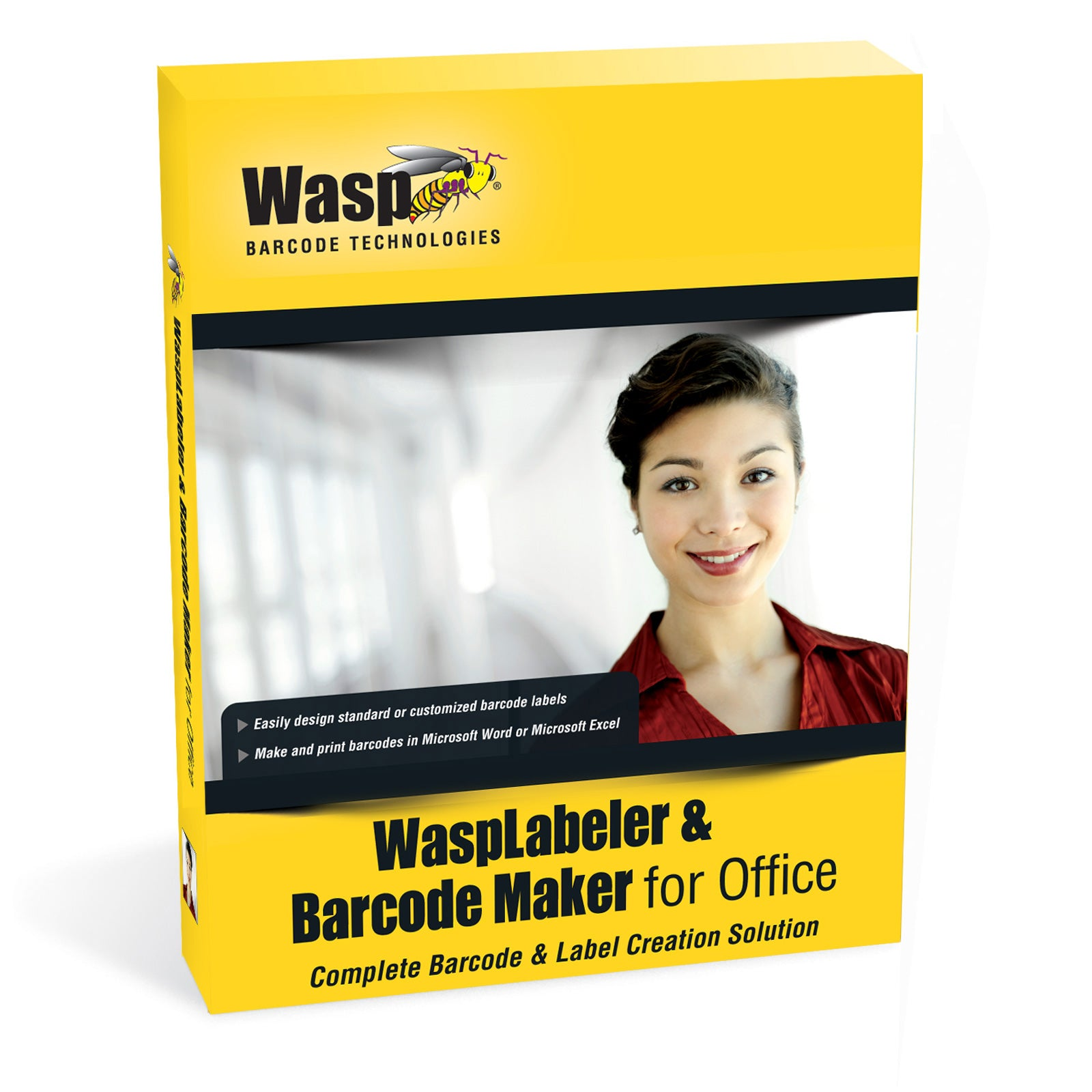 WaspLabeler & Barcode Maker For Office (5 User Licenses) - 633808105365