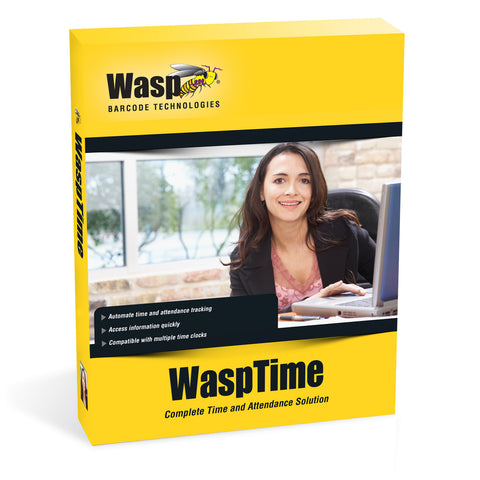 WaspTime v7 Enterprise with HID Time Clock - 633808551391