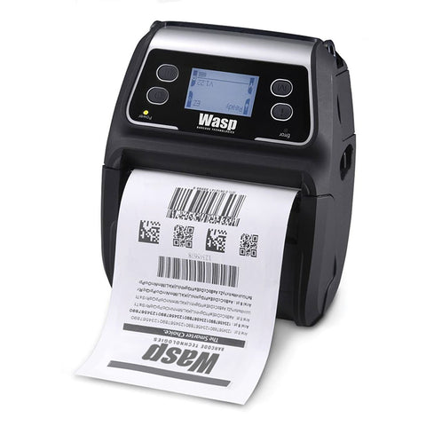 Wasp WPL4MB Mobile Barcode Printer Bluetooth - 633809003448