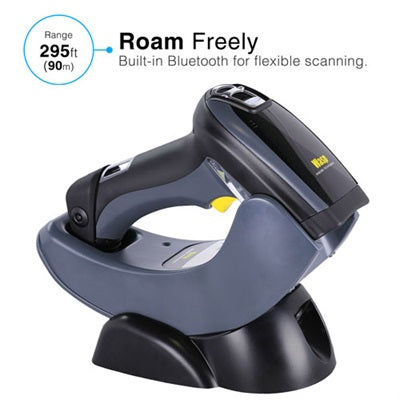 Wasp WWS750 2D Wireless Barcode Scanner - 633809002861