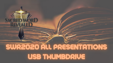 Sacred Word Revealed 2020 USB Thumbdrive