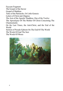 Epistles of the Apostles and Church Fathers