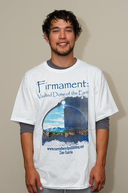 Firmament Crew Neck T-Shirt, White, Red, Blue - sacred-word-publishing-2